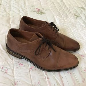 Restoration Andrew men's brown lace up shoes✨
